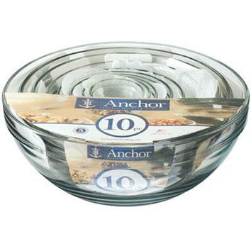 10 PC Mixing Bowl Value Pack