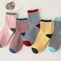 New 5Pcs Straps Socks Gift 01