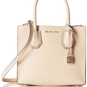 ONETOW MICHAEL Michael Kors Women's Mercer Medium Messenger Bag Oyster