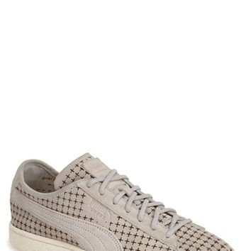 Men's PUMA 'Suede Courtside' Perforated Sneaker