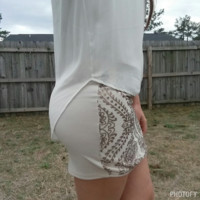 Sequined in Style Skirt