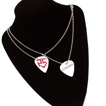 LOUDER Pick Necklace | R5 Rocks