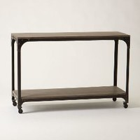 Decker Console Table by Anthropologie in Grey Size: One Size Furniture