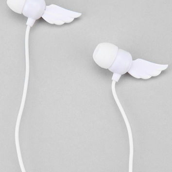 Winding Earbud Headphones