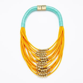 Sunset Multistrand Necklace - HOLST + LEE