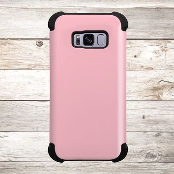 Solid Color Pink for Apple iPhone, Samsung Galaxy, and Google Pixel