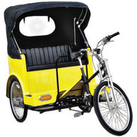 The Pedicab - Hammacher Schlemmer