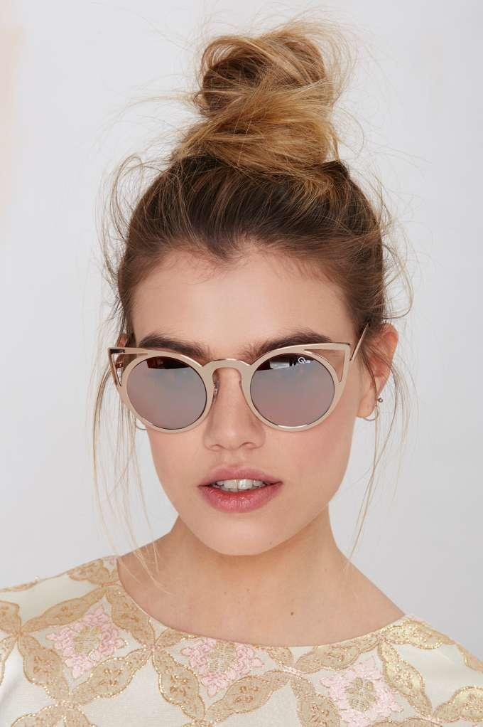 af36e9b800f Quay Invader Shades - Pink from NASTY GAL