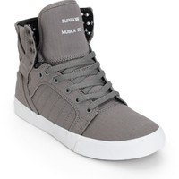 Supra Skytop Herringbone Skate Shoes