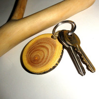Natural Wood Texture and Colors, Natural Wooden Keychain Keyring. Melia Keychain Handicrafts Key Chain. Wood Slice Keyring. Keyrings wood
