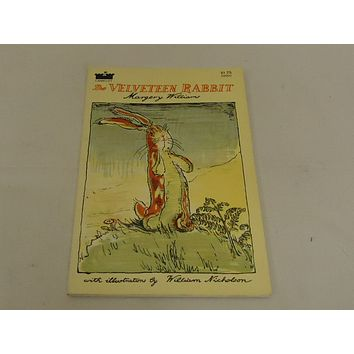 Avon Books The Velvet Rabbit Margery Williams Vintage Book Softcover -- Used