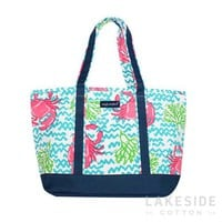 Crab Everyday Tote | Lakeside Cotton