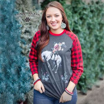 Christmas In Cowtown Graphic Tee By Crazy Train