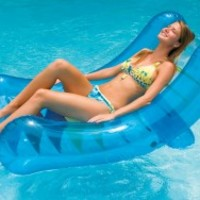 Swimline Inflatable Rocker Swimming Pool Lounger - PoolSupplies.com
