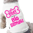 dog big sister to be shirt doggie dog t shirt by zoeysattic