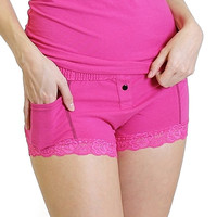Fuchsia Boxer Brief FOXERS Fuchsia Band