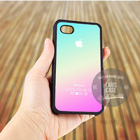 New Pink Aqua Apple Logo Gradient Ombre case for iPhone 5,5s,5c,4,4s,6,6+/iPod 4th 5th/Samsung Galaxy S3,S4,S5/Note 2,3/HTC One/LG Nexus