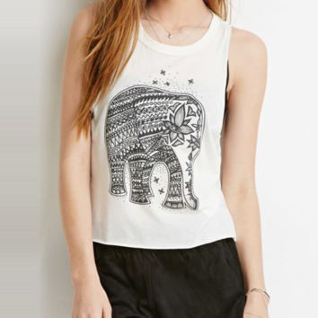 White Elephant Tank Top