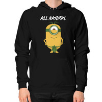 ALL NATURAL MINION Hoodie (on man)