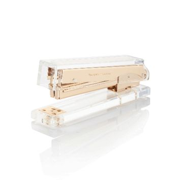 kate spade new york Gold and Acrylic Stapler