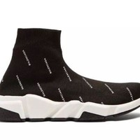 Balenciaga Speed Runners Size UK 4 37 Brand New with receipt Sock Trainers shoes