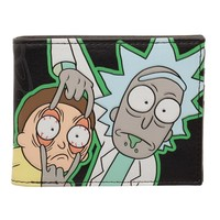 Rick & Morty Glow In The Dark Wallet