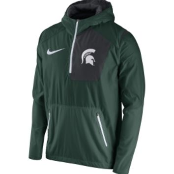 Nike Men's Michigan State Spartans Green Speed Fly Rush Football Jacket | DICK'S Sporting Goods