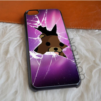 Cracked Out Teddy Bear iPhone 5C Case