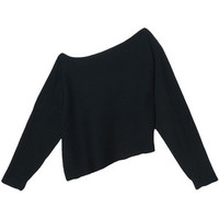 Alexander Wang Long Sleeve Crop Top
