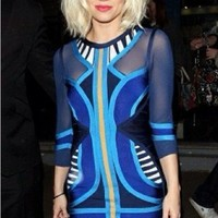 """Blu"" Bandage Bodycon Dress - Love Struck"