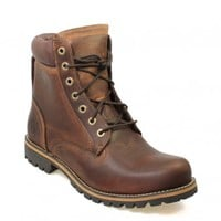 TIMBERLAND EARTHKEEPERS 6INCH MENS BROWN RUGGED LEATHER ANKLE BOOTS