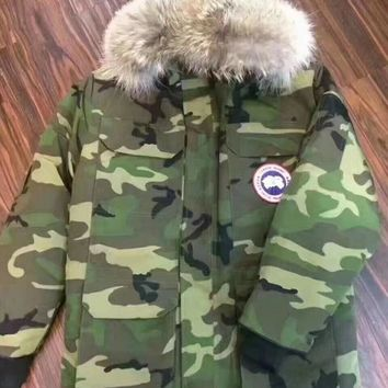 cc hcxx Canada Goose Long Jacket Army Green