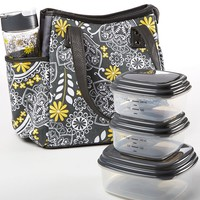 Fit & Fresh Westerly Fire Floral Insulated Lunch Kit | Dillards