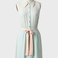 kiley sash belt dress in mint at ShopRuche.com