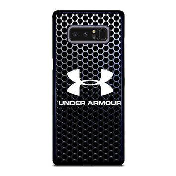 UNDER ARMOUR METAL LOGO Samsung Galaxy Note 8 Case Cover