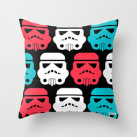 Robot Decorative throw pillow cover -  freaky pillow cover - Star wars pillow case - toddler pillow case -Modern pillow cover
