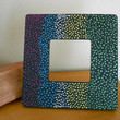 Painted Frame Dot Aboriginal Inspired by Acires on Etsy