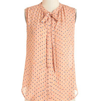 ModCloth Pastel Mid-length Sleeveless Just Imagine Top