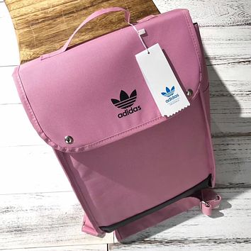 Adidas:Casual Sport  Shoulder School Bag Backpack
