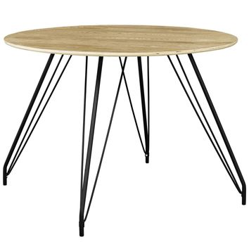 Satellite Mid-Century Modern Round Dining Table