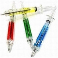 best Christmas gift,crazy hot nurse shall syringe / needle pen / ball pen,Korea Stationery = 1946135172