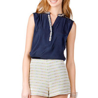 HARPER MULTI STRIPED SHORTS