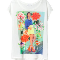 GIRL PRINT T-SHIRT - Woman - New this week - ZARA United States
