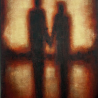 """Couple In Love - Canvas Art Print - """"Holding Your Hand"""""""