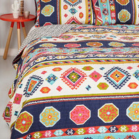 Boho It'd be My Desert Quilt Set in Full, Queen by ModCloth
