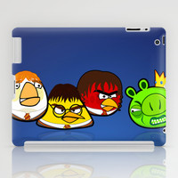 Angry Potter Birds | Angry Birds vs Harry Potter iPad Case by Olechka