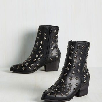 Starred for Attention Bootie | Mod Retro Vintage Boots | ModCloth.com
