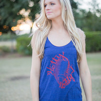 JUDITH MARCH Hotty Toddy Football Ole Miss Tank
