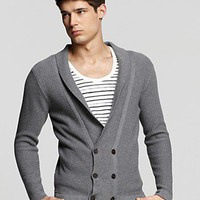 PS Paul Smith Double Shawl Collar Sweater - New Arrivals - Bloomingdales.com