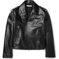 Givenchy - Leather Biker Jacket | MR PORTER